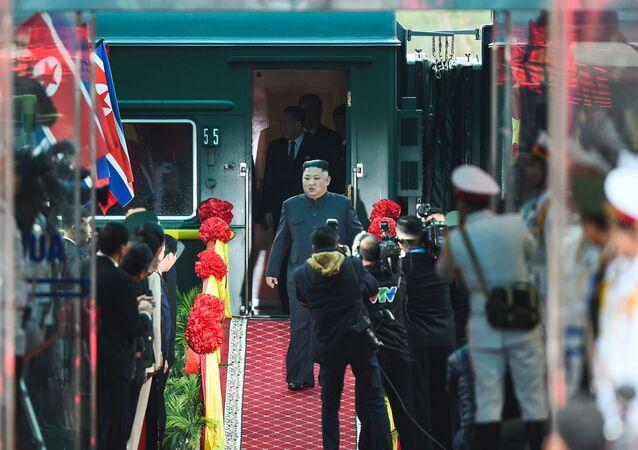 زيارة زعيم كوريا الشمالية كيم جونغ أون إلى فيتنام، 26 فبراير،/ شباط 2019