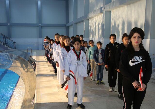 نادي الفتاة التابع لوزارة الشباب والرياضة الاتحادية في مركز محتفظة نينوي، العراق