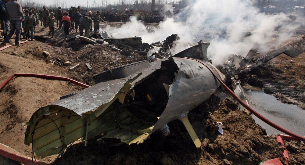 إسقاط طائرة هندية من قبل مقاتلات باكستانية
