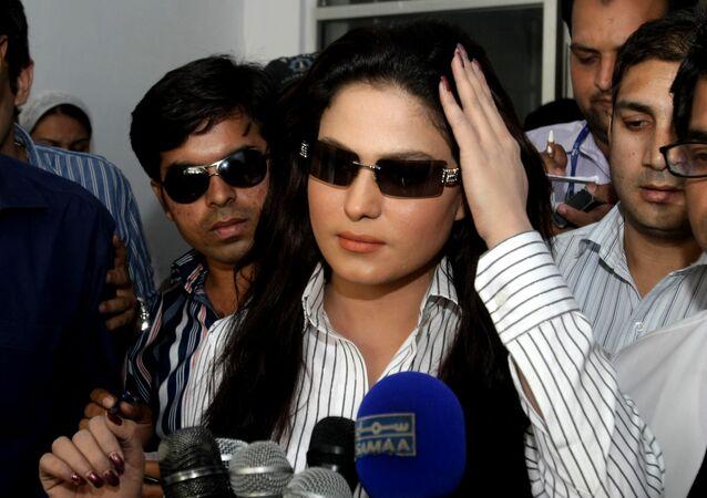 الممثلة الباكستانية فينا مالك
