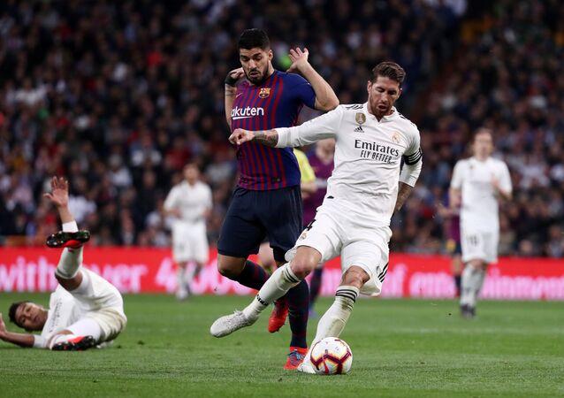 مباراة كلاسيكو الأرض بين ريال مدريد وبرشلونة