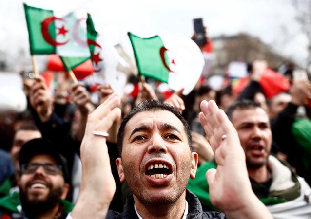 احتجاجات ضد ترشح عبد العزيز بوتفليقة في الجزائر