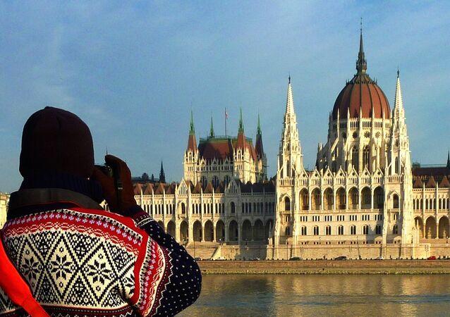 مبنى البرلمان المجري في بودابست