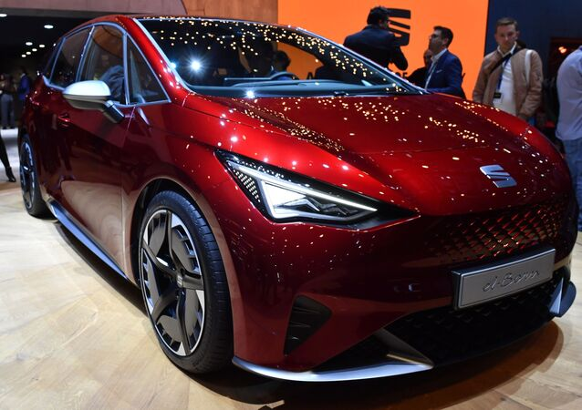 معرض جنيف الدولي للسيارات لعام 2019 - عرض سيارة Seat el-Born الكهربائية