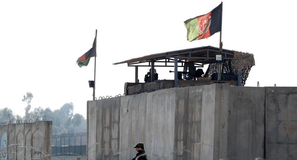 قاعدة عسكرية في أفغانستان