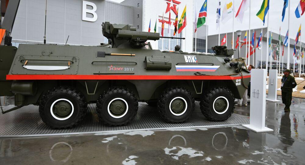 ناقلة الجنود المدرعة بي تي إر-87ِ