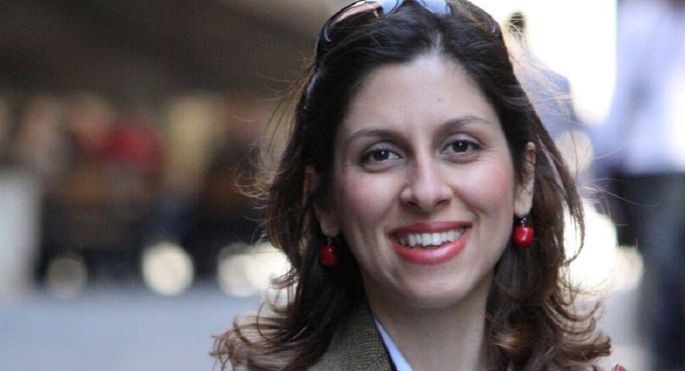 موظفة الإغاثة الإيرانية البريطانية، نازانين زاغاري راتكليف، المحكوم عليها بالسجن لمدة خمسة أعوام في إيران