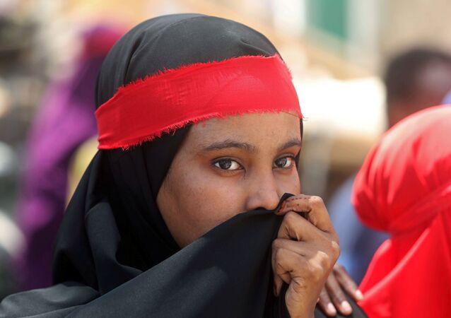 مرأة صومالية