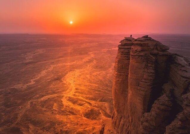 جبل الطويق في المملكة العربية السعودية Тувейк