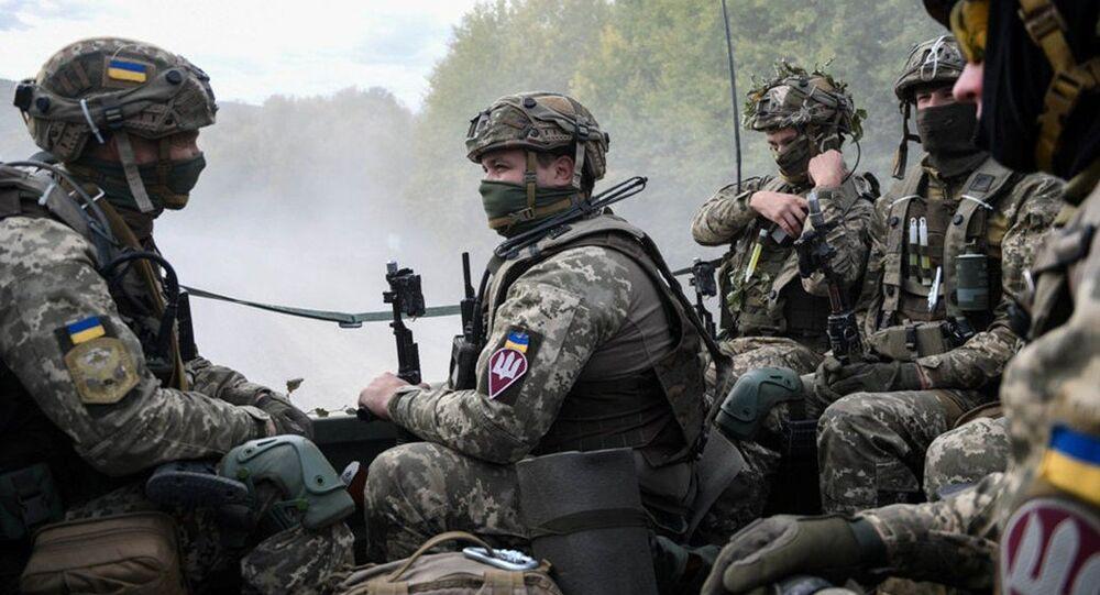 عسكريون أوكرانيون