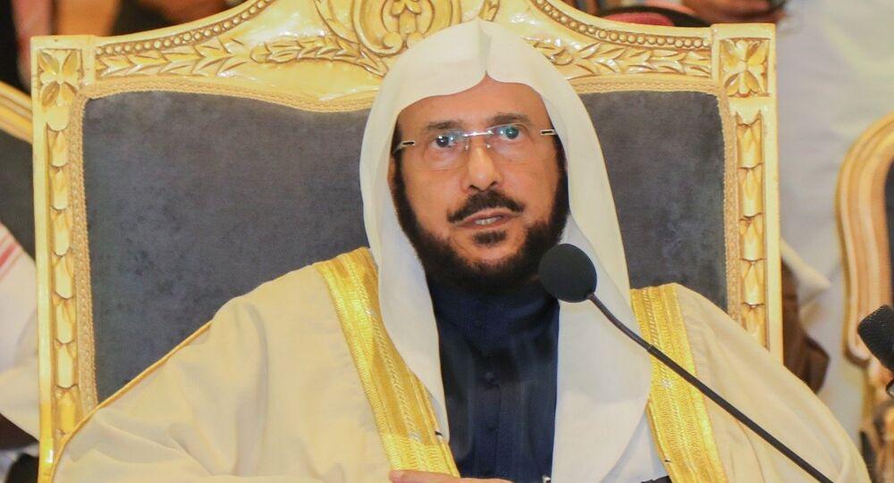 وزير الشؤون الإسلامية السعودي