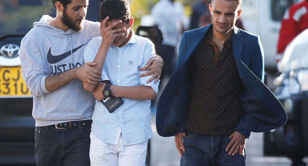 عوائل الضحايا في حادثة تحطم الطائرة الإثيوبية