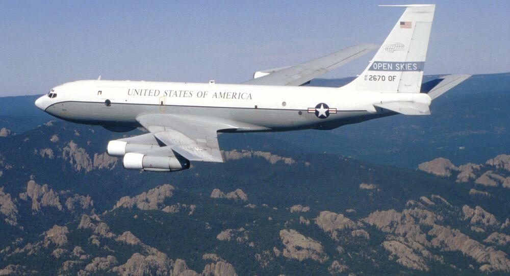 طائرة استطلاع أمريكية من طراز بوينغ OC-135B