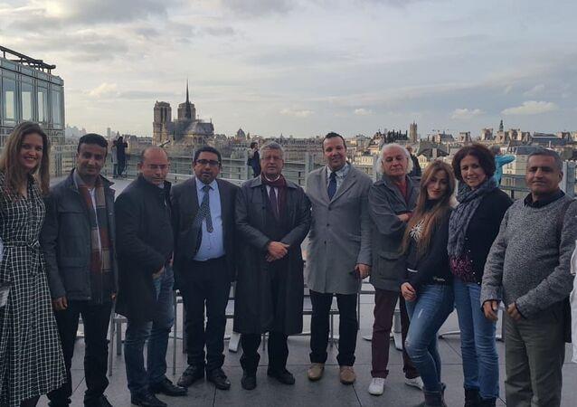 حميد عقبي، رئيس المنتدى العربي الأوروبي للسنيما والمسرح، في باريس