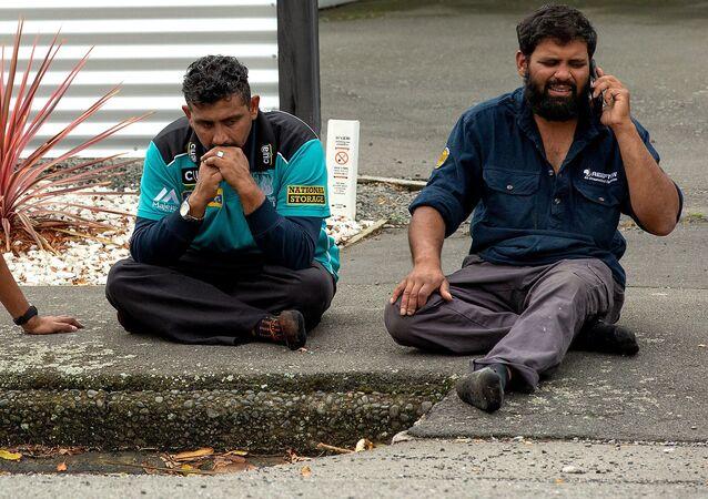 الشهود على الحادث الإرهابي في نيوزيلندا