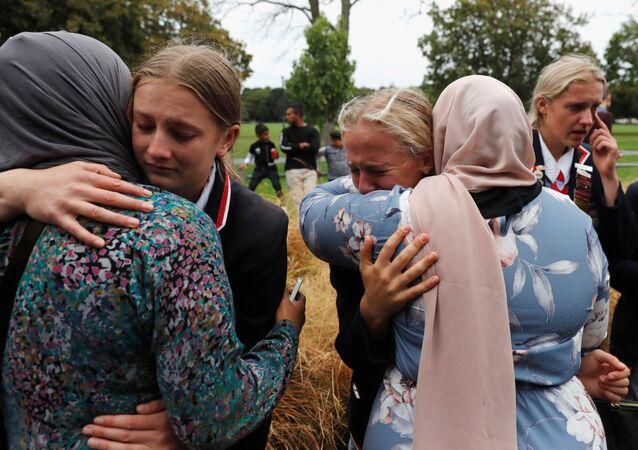 حداد في نيوزيلندا، الهجوم الإرهابي على المسجدين في كرايست تشيرتش، 18 مارس/ آذار 2019
