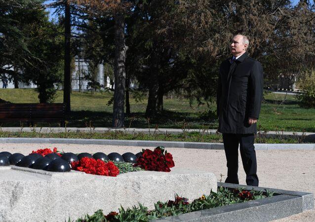 زيارة الرئيس فلاديمير بوتين إلى القرم - سيفاستوبل 18 مارس/ آذار 2019