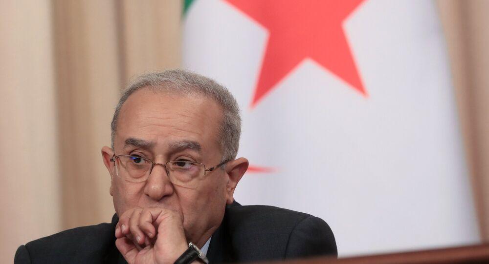 لقاء وزير الخارجية الروسي سيرغي لافروف مع نظيره الجزائري رمطان لعمامرة