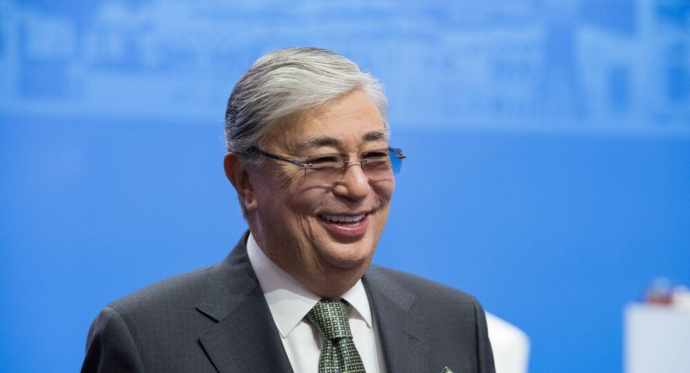 رئيس مجلس الشيوخ الكازاخستاني، قاسم توكاييف