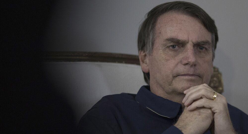 الرئيس البرازيلي، جايير بولسونارو