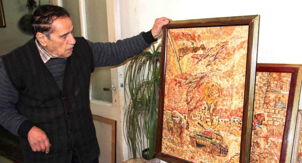 الفنان السوري أحمد راتب سلطاني