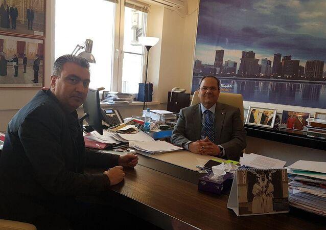 السفير البحريني في موسكو