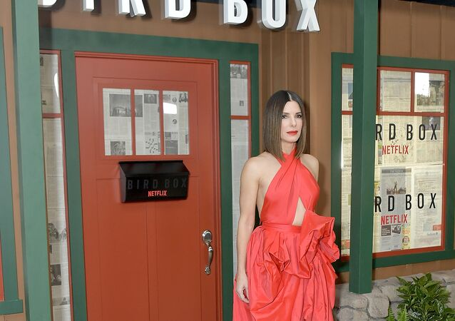 الممثلة الأمريكية ساندرا بولوك