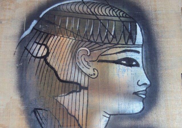 صناعة البردي  في مصر