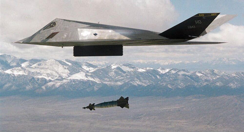 إف-117 أثناء قصف يوغوسلافيا