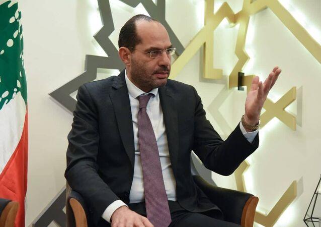 وزير الدولة اللبناني لشؤون التجارة الخارجية حسن مراد