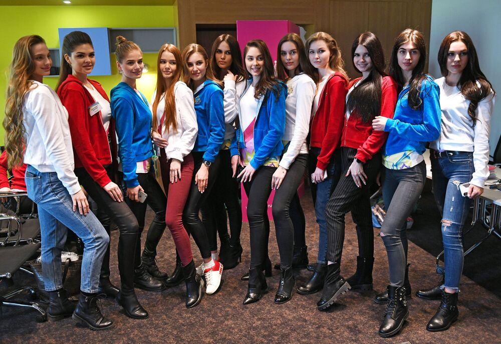 المشاركات في مسابقة ملكة جمال روسيا 2019 في موسكو