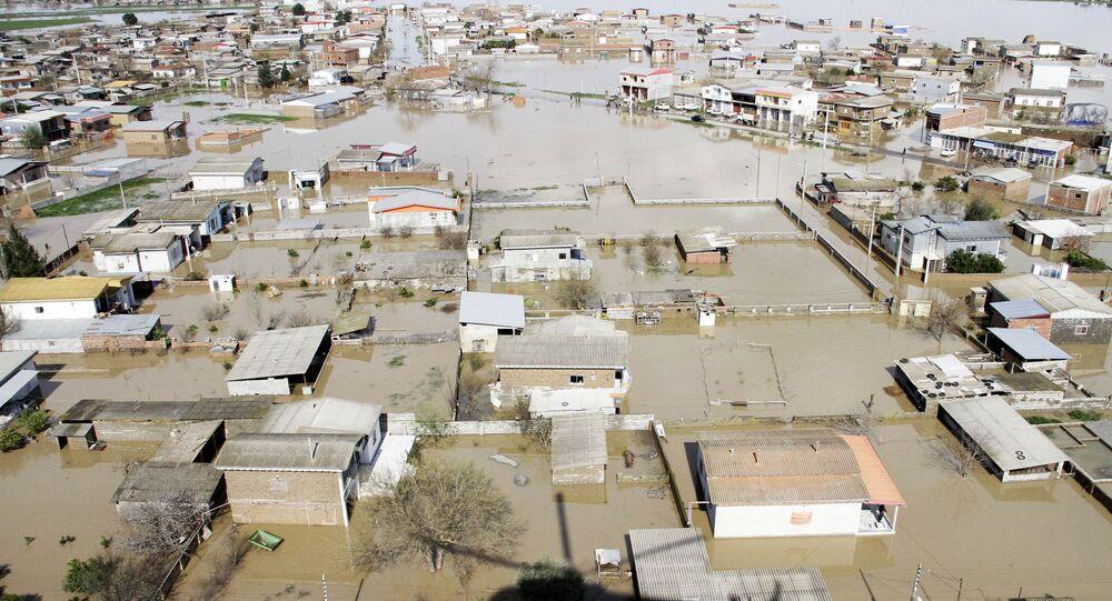 إيران - المناطق المنكوبة إثر السيول الهائلة التي غمرت البلدات الإيرانية، 22 مارس/ آذار 2019