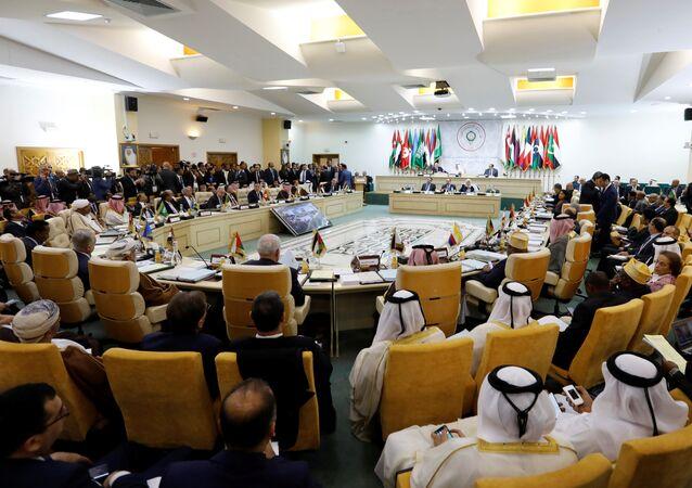 الاجتماع التحضيري لوزراء الخارجية العرب تحضيرا للقمة العربية