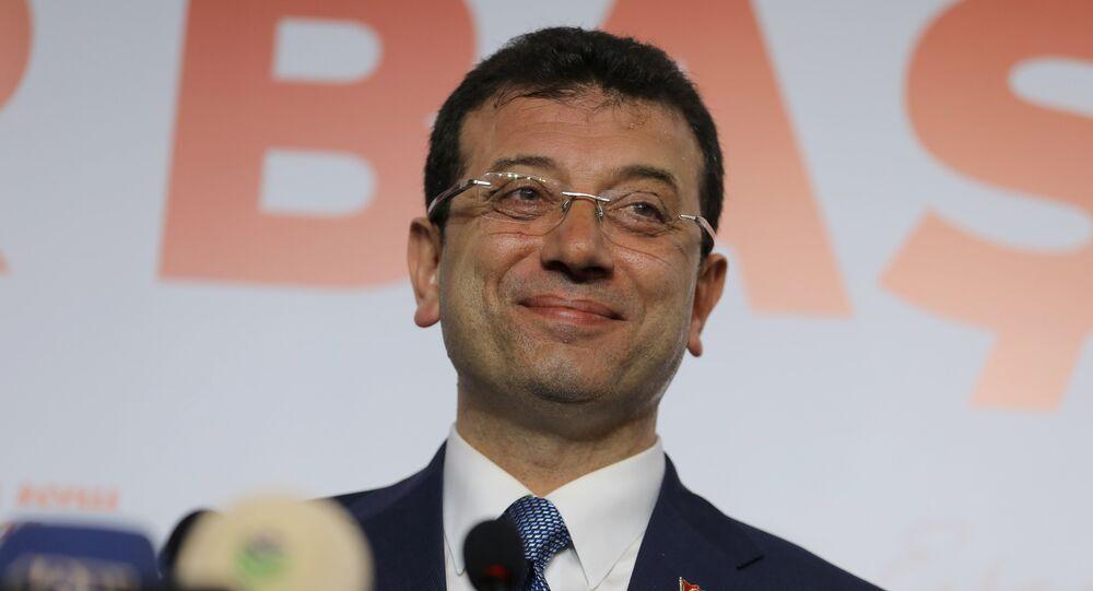 إمام أوغلو مرشح حزب المعارضة الرئيسي في إسطنبول