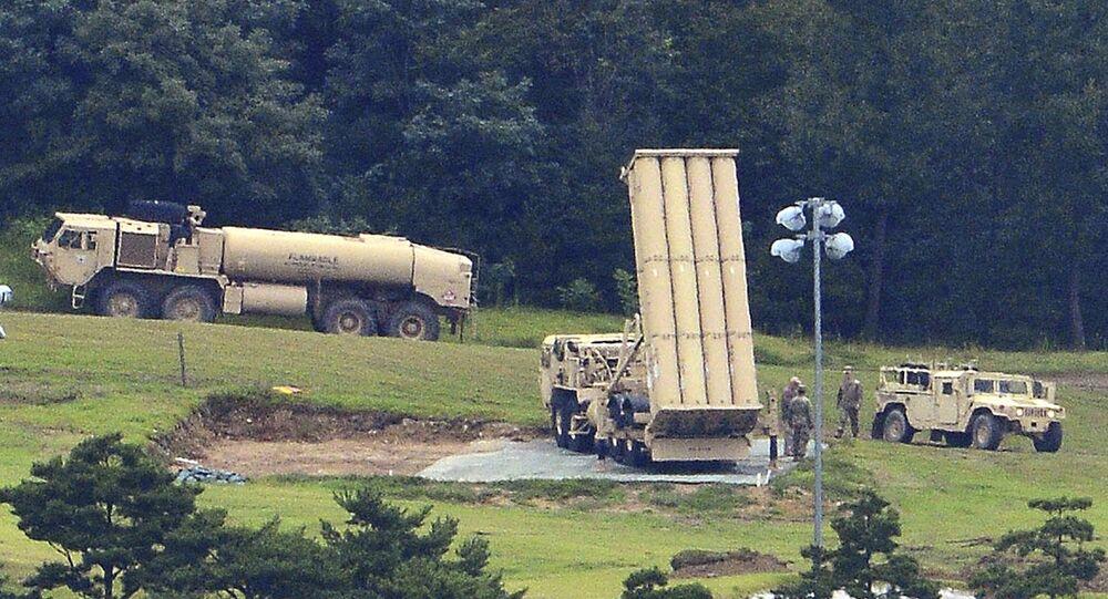 منظومة صواريخ ثاد الأمريكية