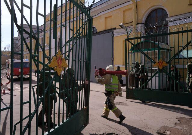 انفجار الأكاديمية العسكرية في سان بطرسبرغ