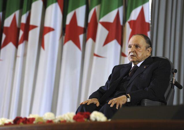 صورة أرشيفية للرئيس الجزائري عبد العزيز بوتفليقة، 2014