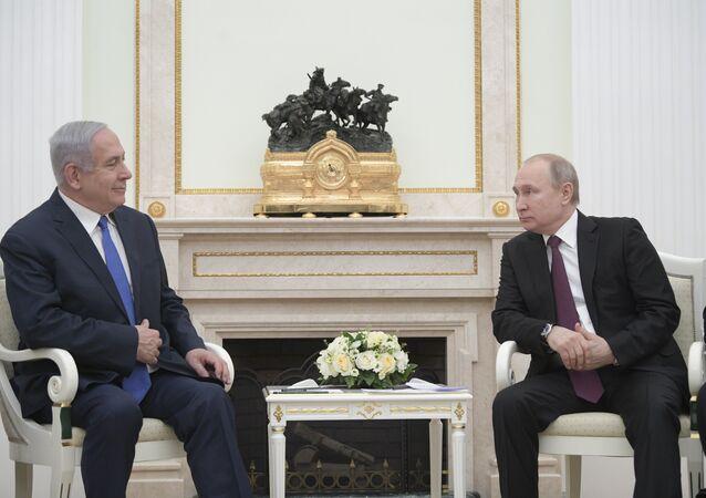 لقاء بين بوتين ونتنياهو في موسكو