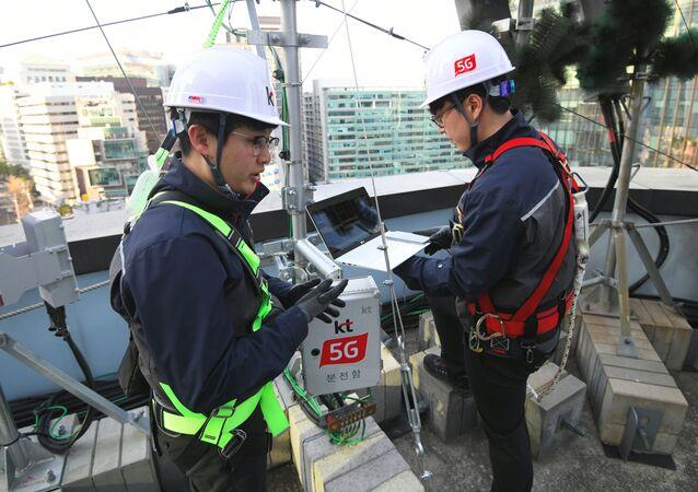كوريا الجنوبية تطلق خدمات شبكة 5G
