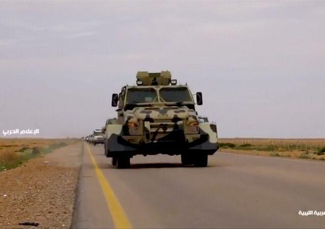 الجيش الوطني الليبي بقيادة المشير خليفة حفتر يتوجه إلى العاصمة طرابلس
