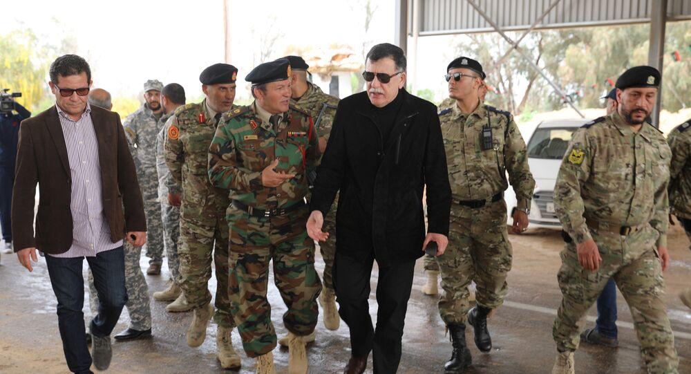 رئيس المجلس الرئاسي في ليبيا فايز السراج