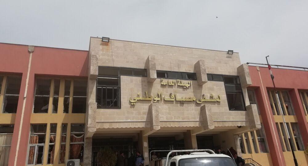 قصف صاروخي على مشفى شمالي حماة