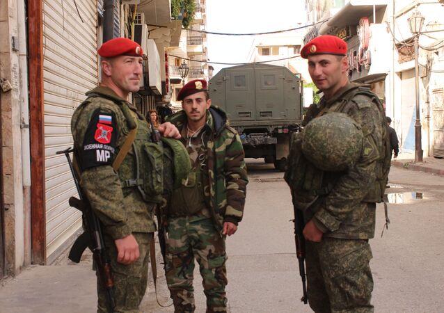 جنود من الجيش الروسي في سوريا