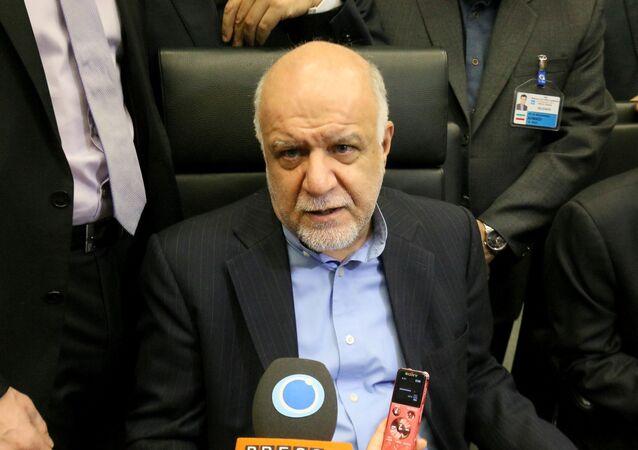 وزير النفط الإيراني، بيجن نامدار زنكنة