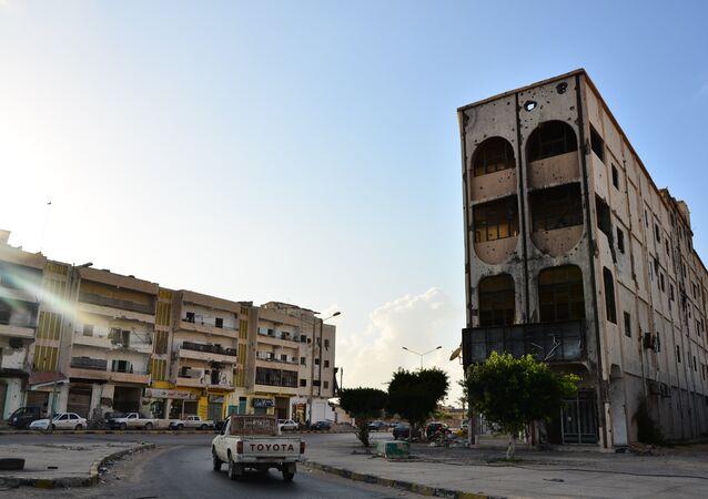 مدينة مصراتة في ليبيا