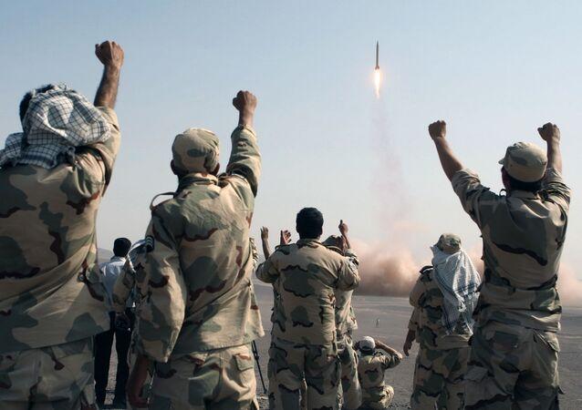 الحرس الثوري الإيراني - إيران 3 يوليو/ تموز 2012