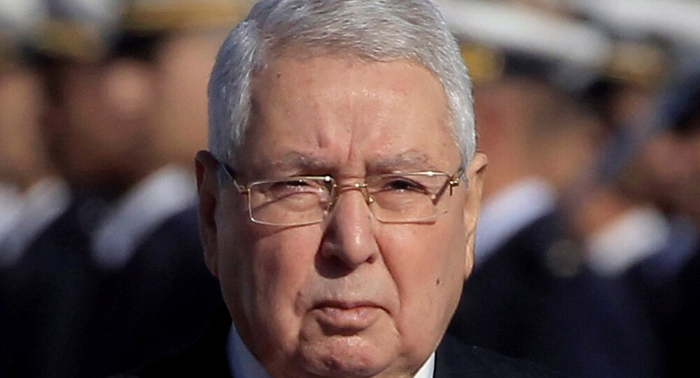 الرئيس الجزائري المؤقت عبد القادر بن صالح