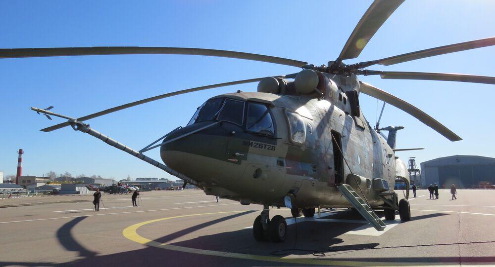 أحدث تعديلات مروحيات النقل الروسية - مروحية مي-26-تي2بي
