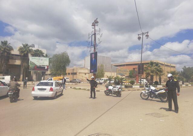 الأجهزة الأمنية السورية تمكنت من تفكيك دراجة نارية مفخخة  في درعا