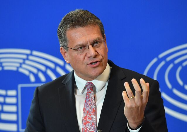 نائب رئيس المفوضية الأوروبية لشؤون اتحاد الطاقة، ماروش شيفتشوفيتش